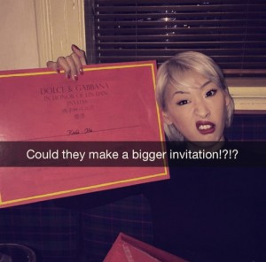 The biggest invitation ever