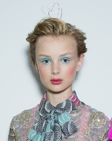 Schiaparelli beauty pictures HC FW 1516-9