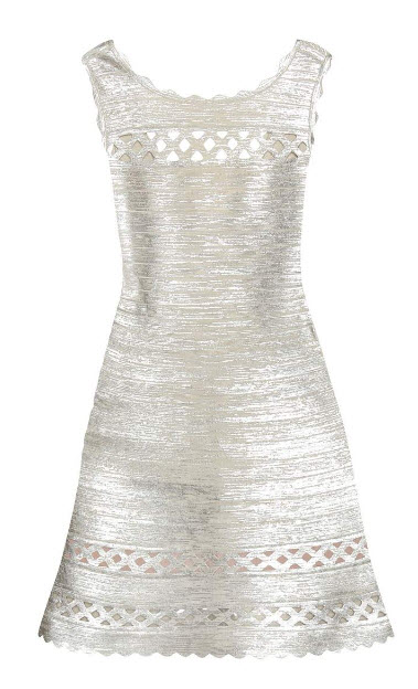 hervéleger-metallic-dress