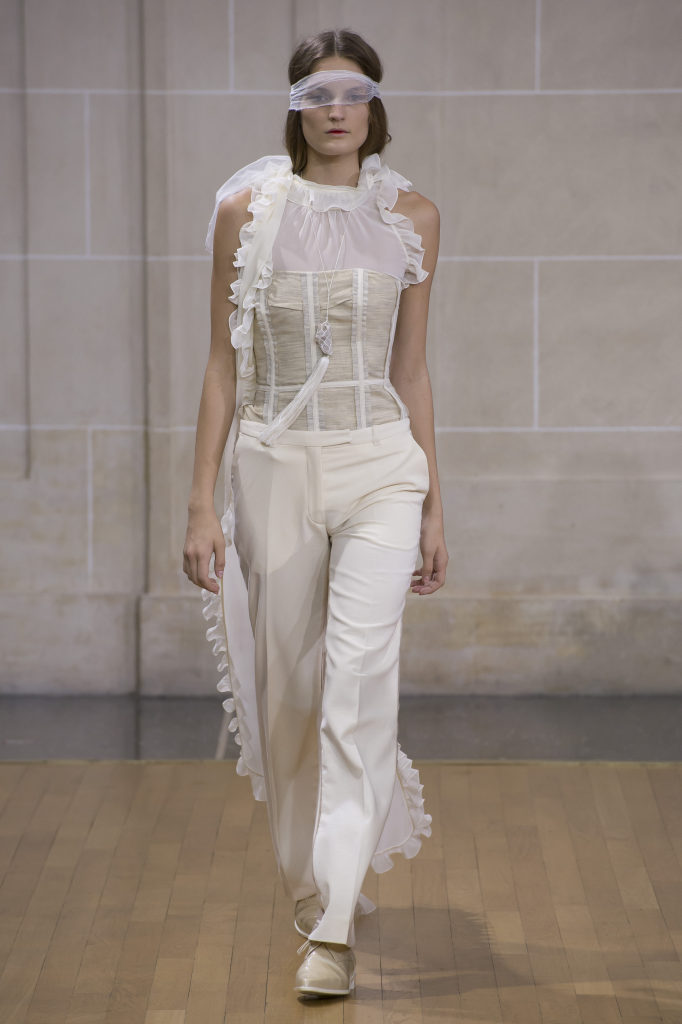8011f41e667 A Mysterious SS16 with VERONIQUE BRANQUINHO at  PFW