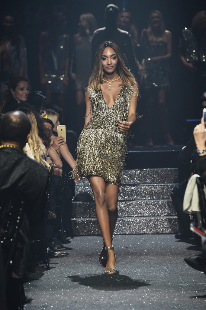 CAP D'ANTIBES, FRANCE - MAY 19:  Jourdan Dunn walks the runway at the amfAR's 23rd Cinema Against AIDS Gala at Hotel du Cap-Eden-Roc on May 19, 2016 in Cap d'Antibes, France.  (Photo by Ian Gavan/amfAR16/WireImage)