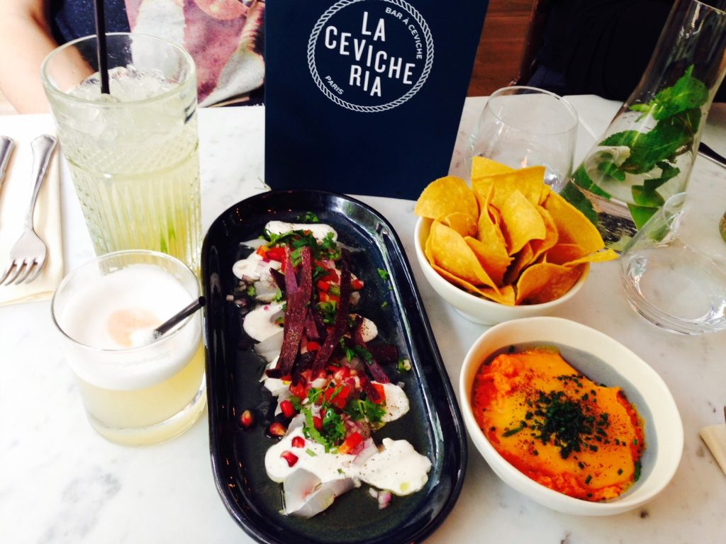 Cevicheria during