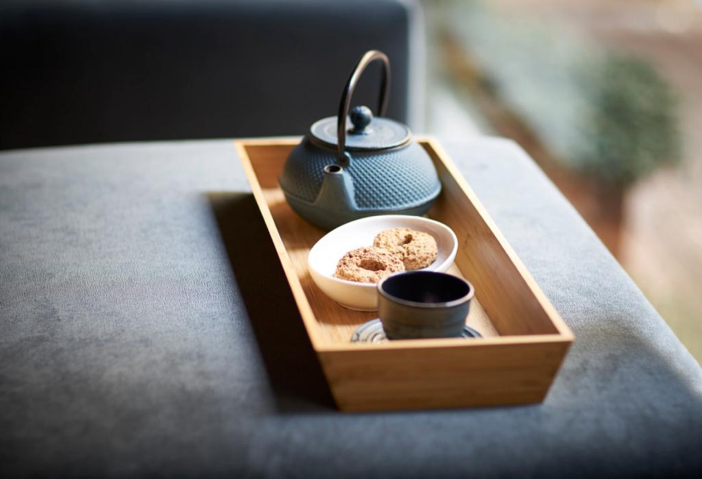 Tea set spa portobay