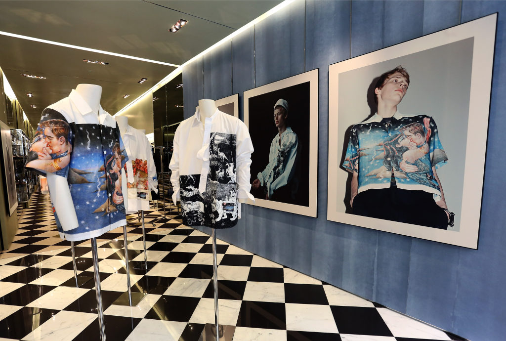 Florence, Paris & Milan – PRADA MEN'S SPECIAL DISPLAYS ...