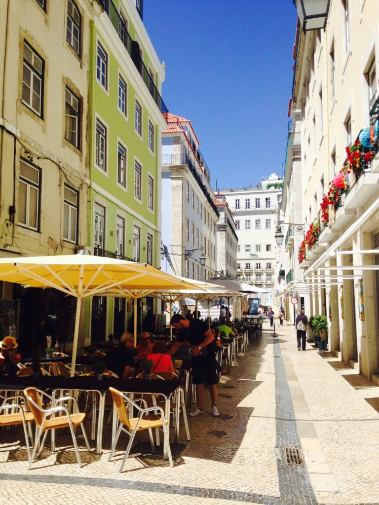 in the streets of lissabon