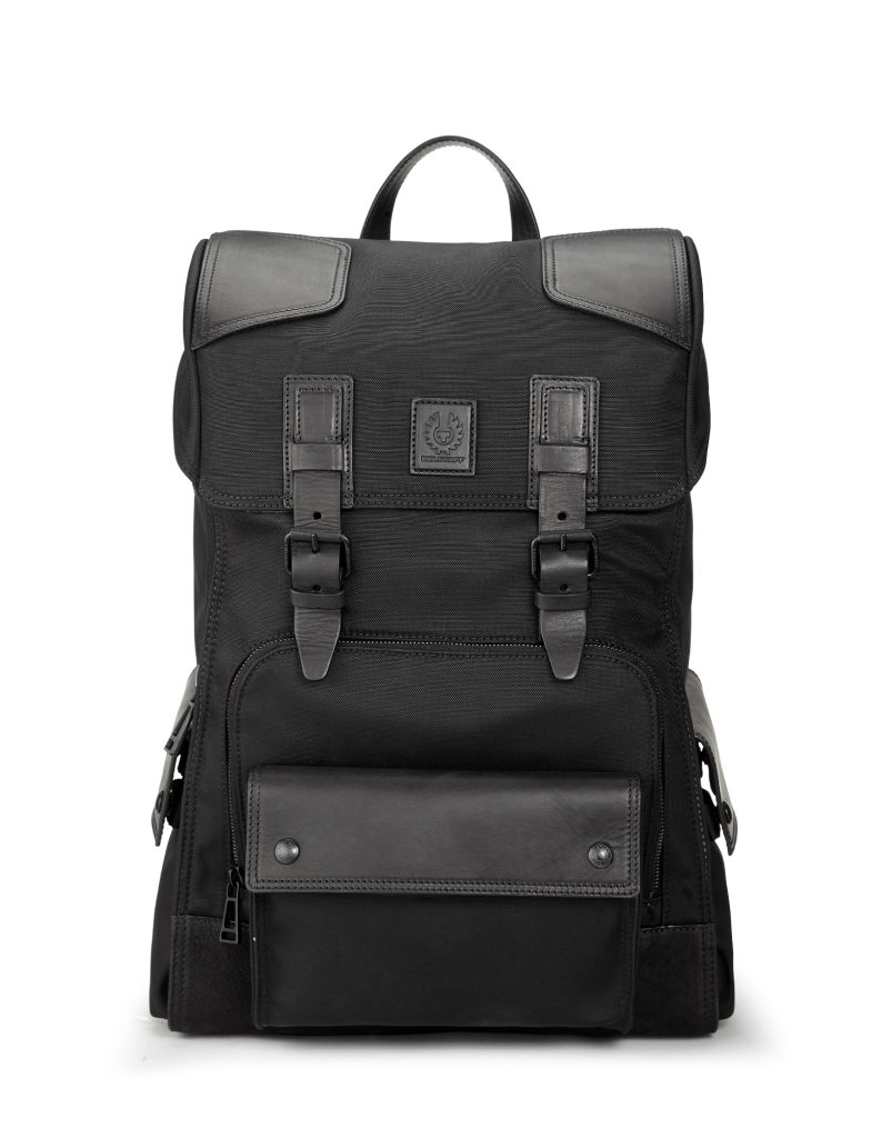 Belstaff Roadmaster backpack plain nylon black