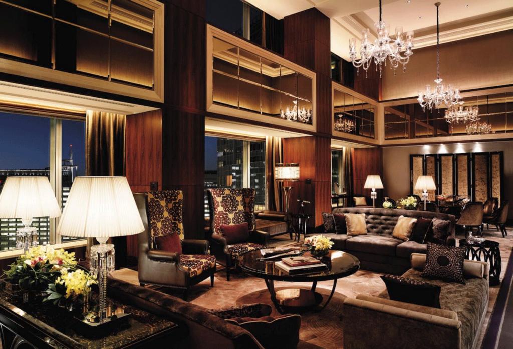 shangri la tokyo lounge