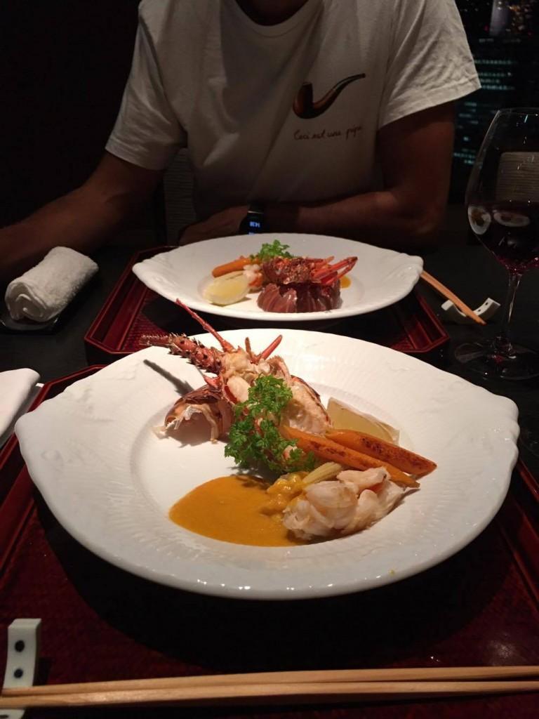 main dish lobster
