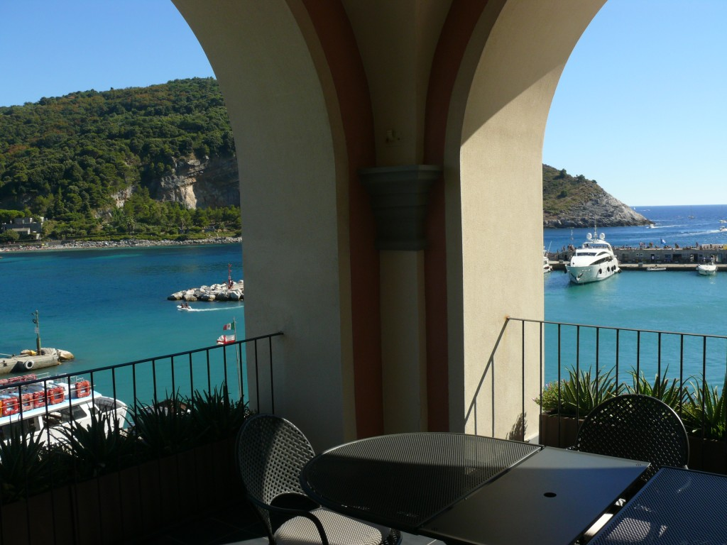 view from room terrace