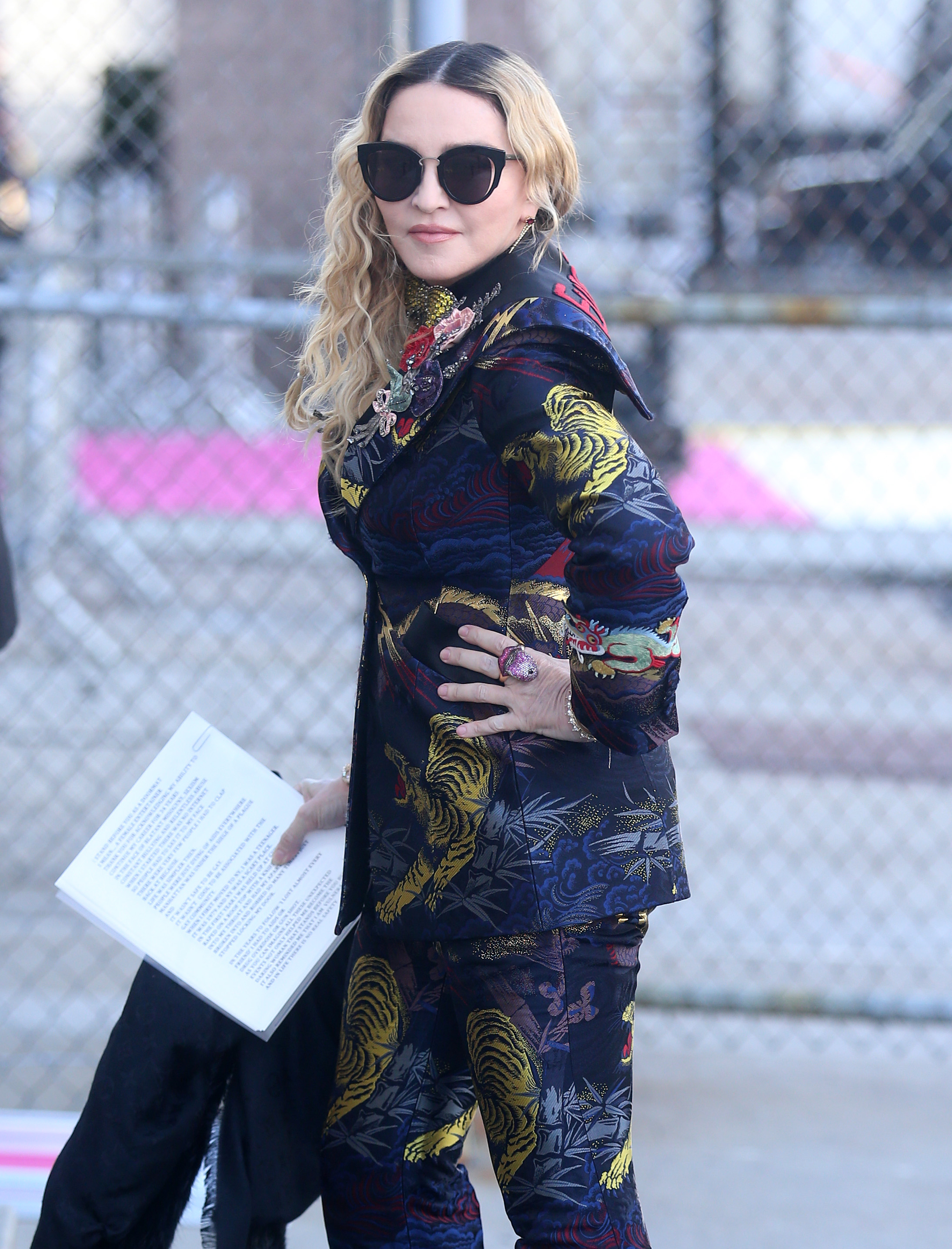 New York Style Sunglasses  spotted madonna wearing must have sunglasses what we adore
