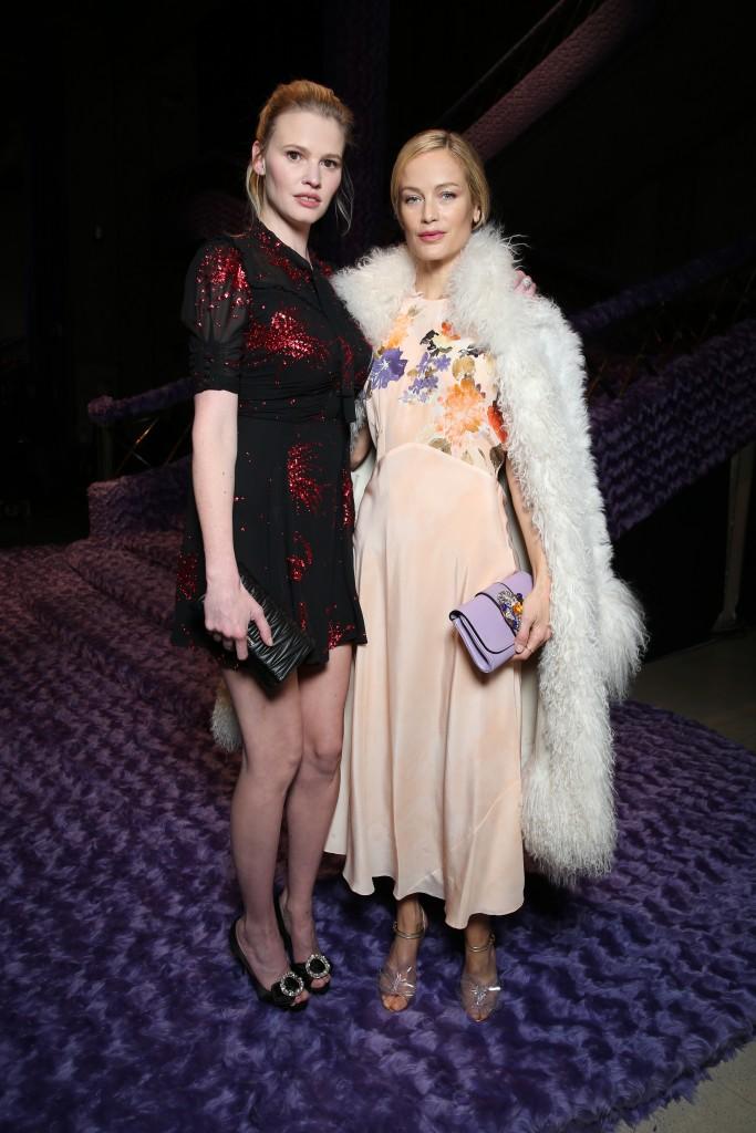 Lara Stone & Caroline Murphy