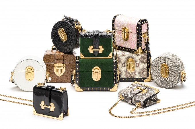 4321a2d5fce9cf Here they are finally: The Prada Micro Bags | What We Adore