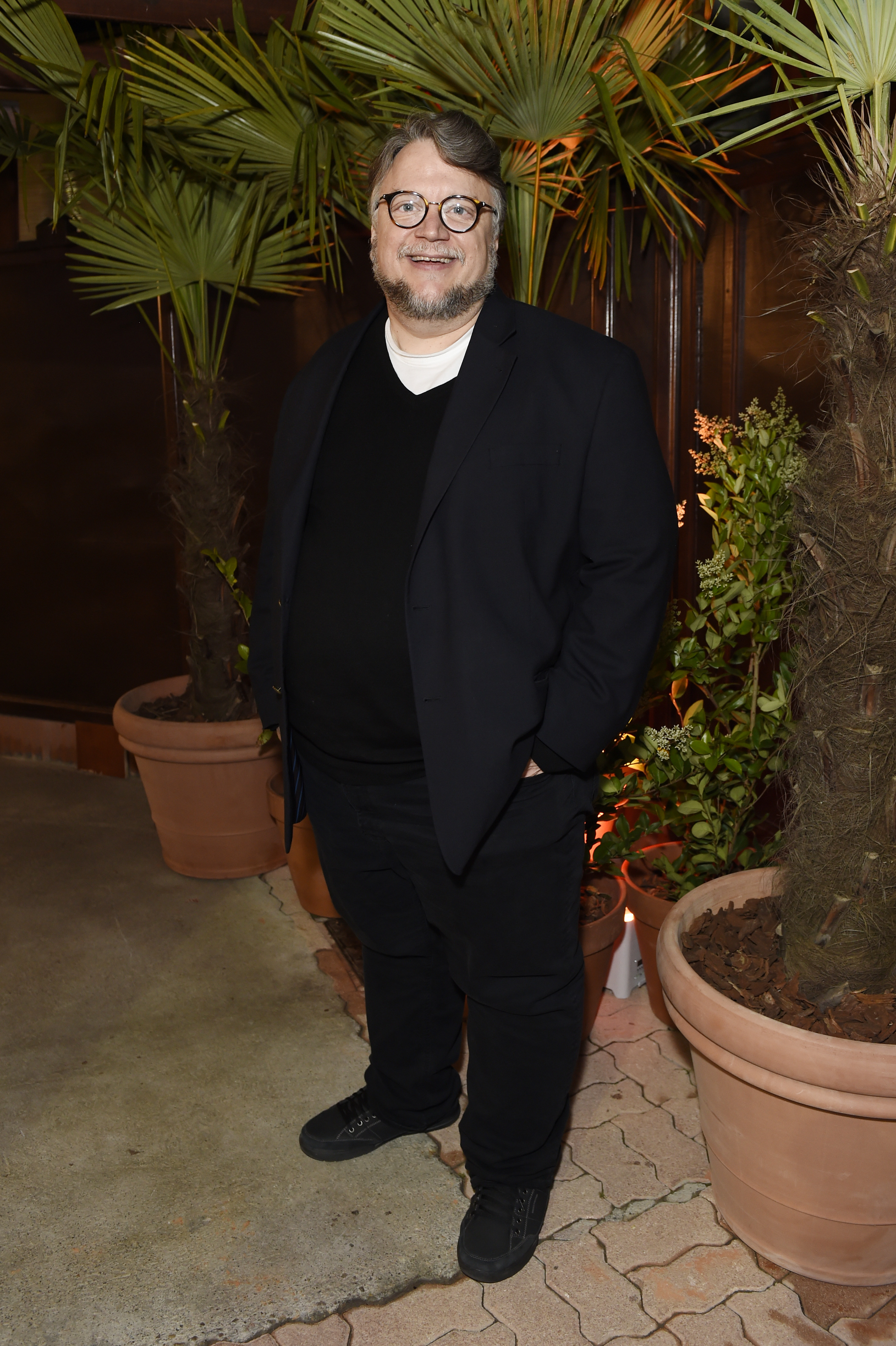CANNES, FRANCE - MAY 22:  Guillermo del Toro attends Prada Private Dinner during the 70th annual Cannes Film Festival at Restaurant Fred L'Ecailler on May 22, 2017 in Cannes, France.  (Photo by Antony Jones/Getty Images for Prada)