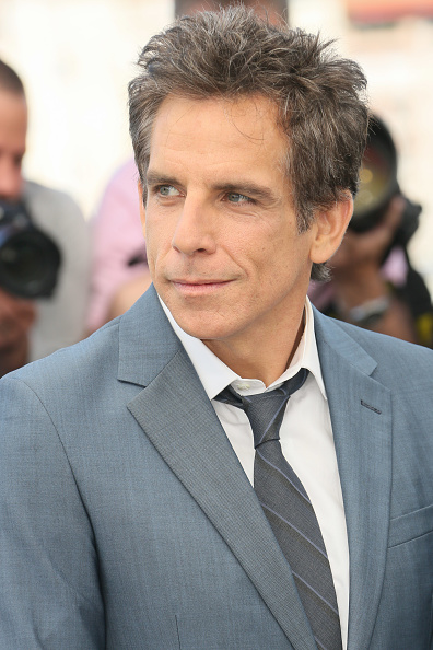 """CANNES, FRANCE - MAY 21:  Ben Stiller attends the """"The Meyerowitz Stories"""" Photocall during the 70th annual Cannes Film Festival at Palais des Festivals on May 21, 2017 in Cannes, France.  (Photo by Tony Barson/FilmMagic)"""