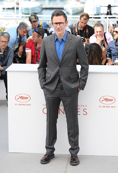 """attends the """"Redoubtable (Le Redoutable)"""" photocall during the 70th annual Cannes Film Festival at Palais des Festivals on May 21, 2017 in Cannes, France."""