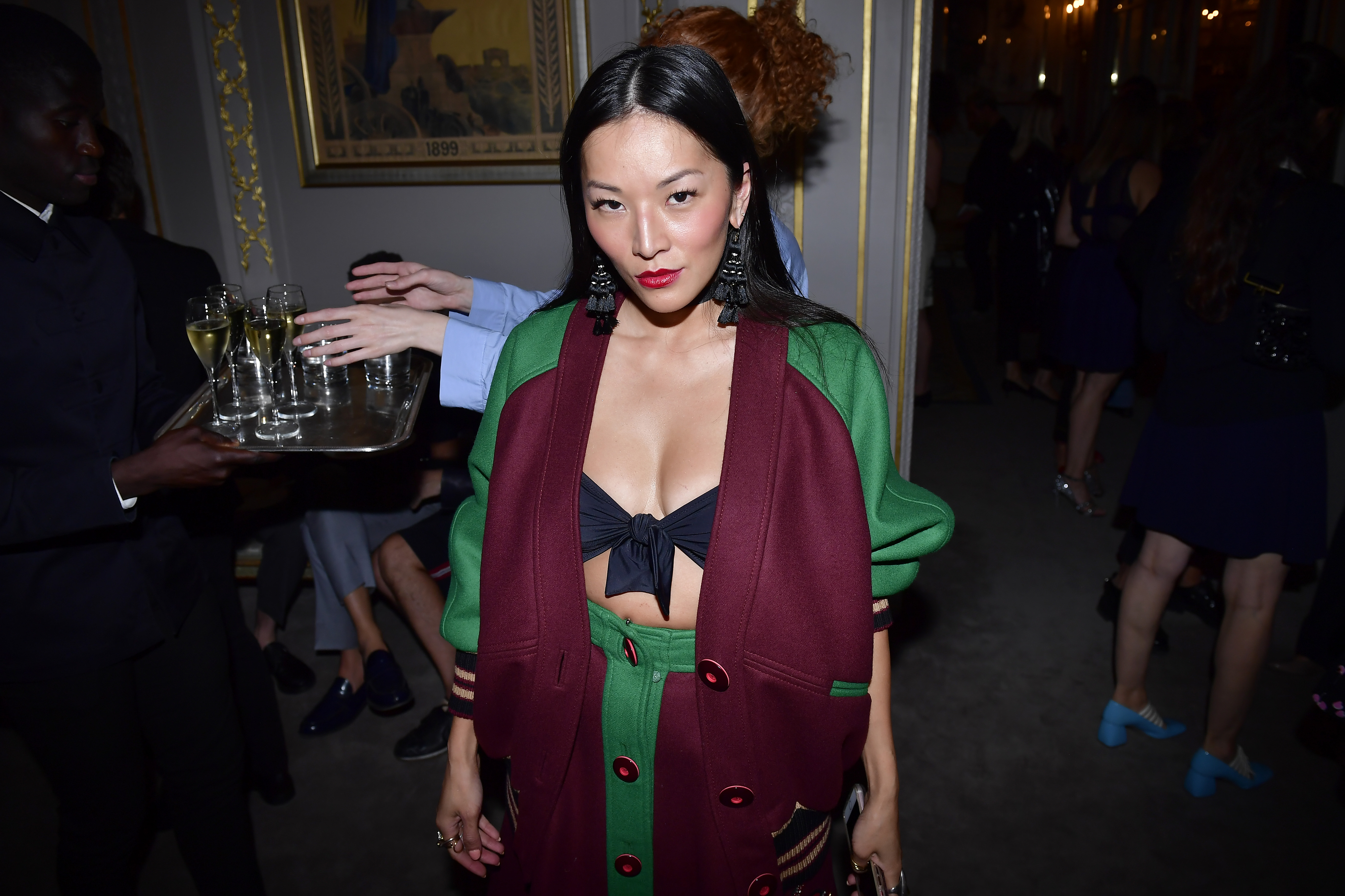 PARIS, FRANCE - JULY 02:  Tina Leung attends Miu Miu Cruise Collection cocktail & party as part of Haute Couture Paris Fashion Week on July 2, 2017 in Paris, France.  (Photo by Victor Boyko/Getty Images for Miu Miu) *** Local Caption *** Tina Leung