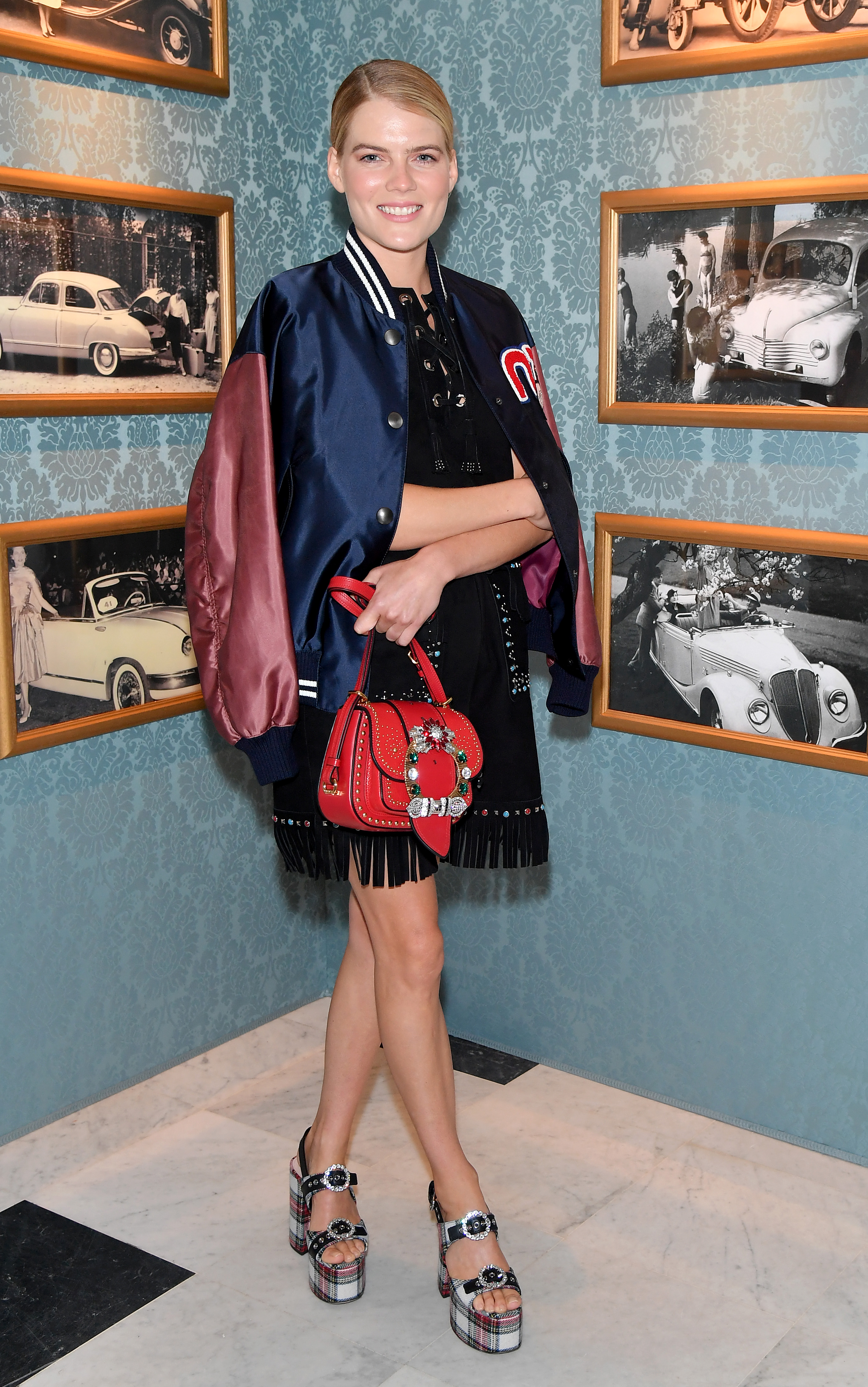 PARIS, FRANCE - JULY 02:  Emma Greenwell attends Miu Miu Cruise Collection show as part of Haute Couture Paris Fashion Week on July 2, 2017 in Paris, France.  (Photo by Dominique Charriau/Getty Images for Miu Miu) *** Local Caption *** Emma Greenwell