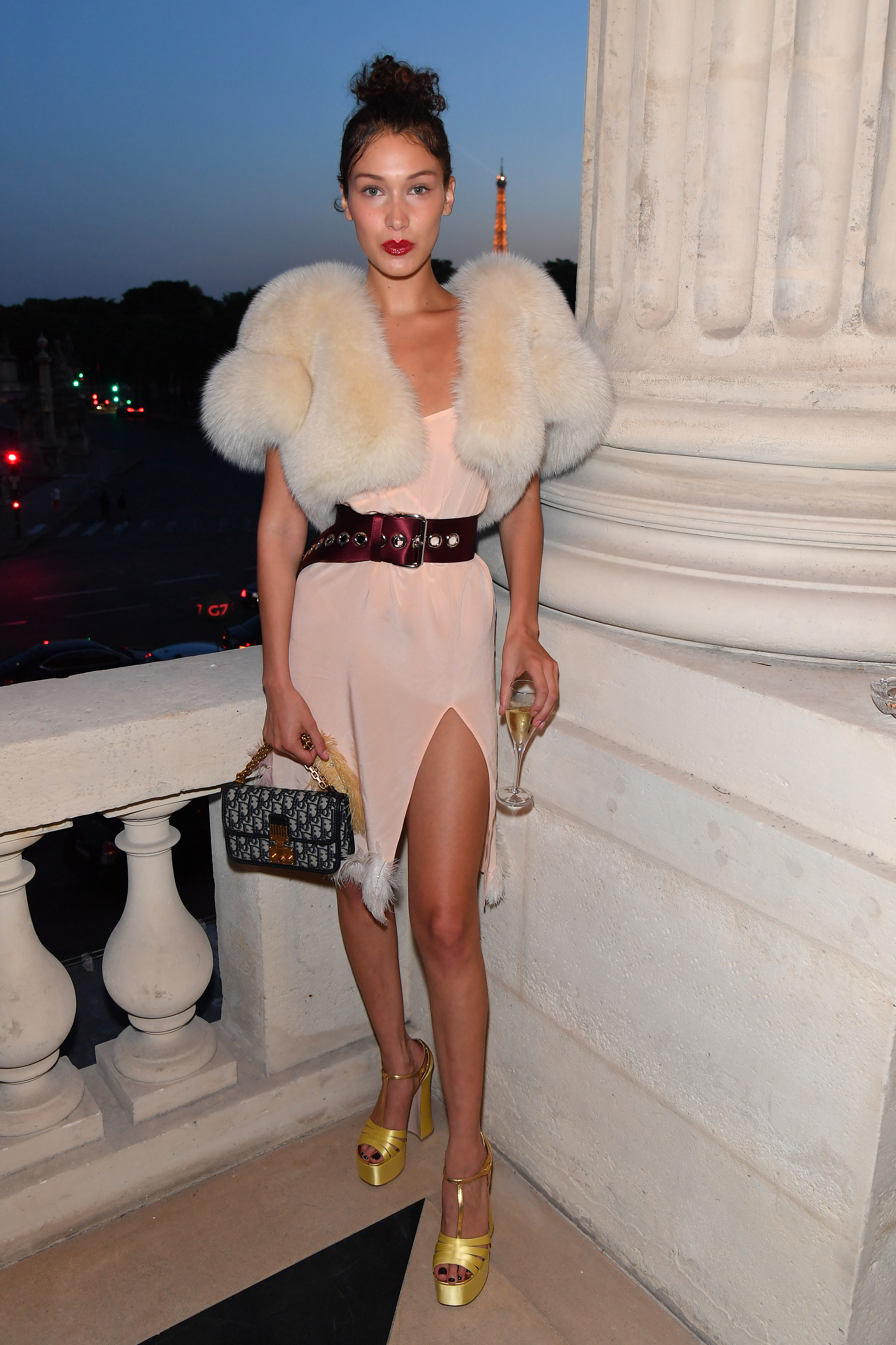 PARIS, FRANCE - JULY 02:  Bella Hadid attends Miu Miu Cruise Collection cocktail & party as part of Haute Couture Paris Fashion Week on July 2, 2017 in Paris, France.  (Photo by Dominique Charriau/WireImage) *** Local Caption *** Bella Hadid
