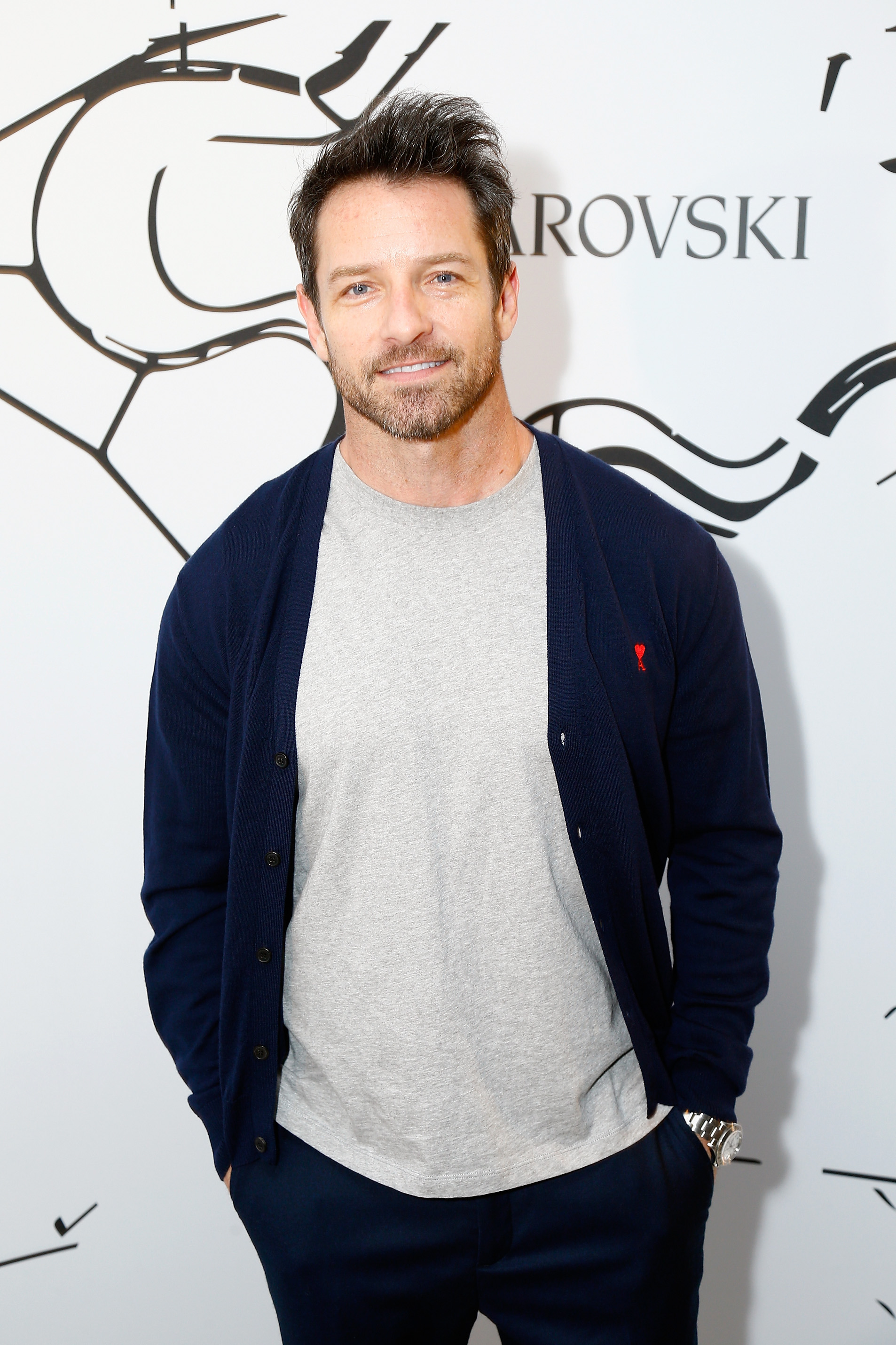 PARIS, FRANCE - JULY 03:  Ian Bohen attends the Iris Van Herpen X Swarovski Cocktail Haute Couture Fall/Winter 2017-2018 show as part of Haute Couture Paris Fashion Week on July 3, 2017 in Paris, France.  (Photo by Julien Hekimian/Getty Images) *** Local Caption *** Ian Bohen