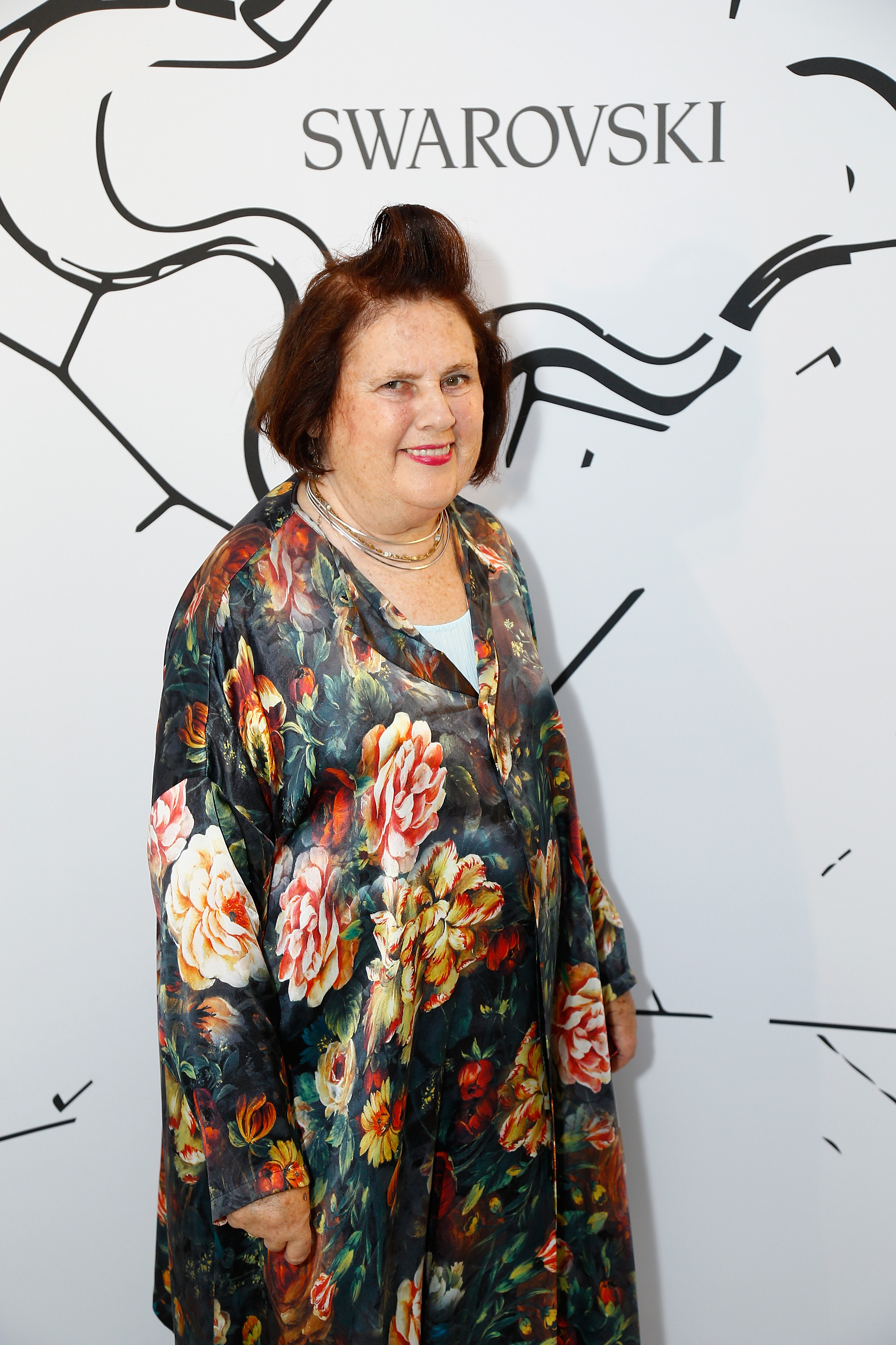 PARIS, FRANCE - JULY 03:  Suzy Menkes attends the Iris Van Herpen X Swarovski Cocktail Haute Couture Fall/Winter 2017-2018 show as part of Haute Couture Paris Fashion Week on July 3, 2017 in Paris, France.  (Photo by Julien Hekimian/Getty Images) *** Local Caption *** Suzy Menkes