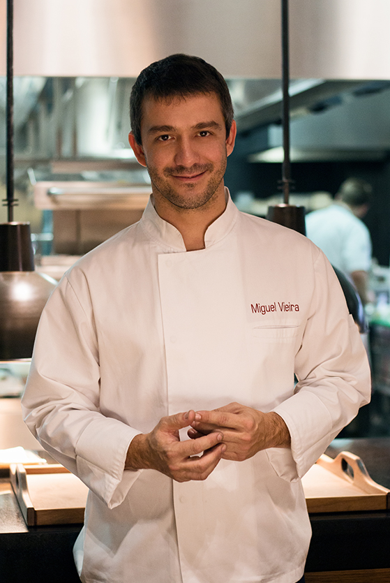 Executive Chef Miguel Rocha Vieira
