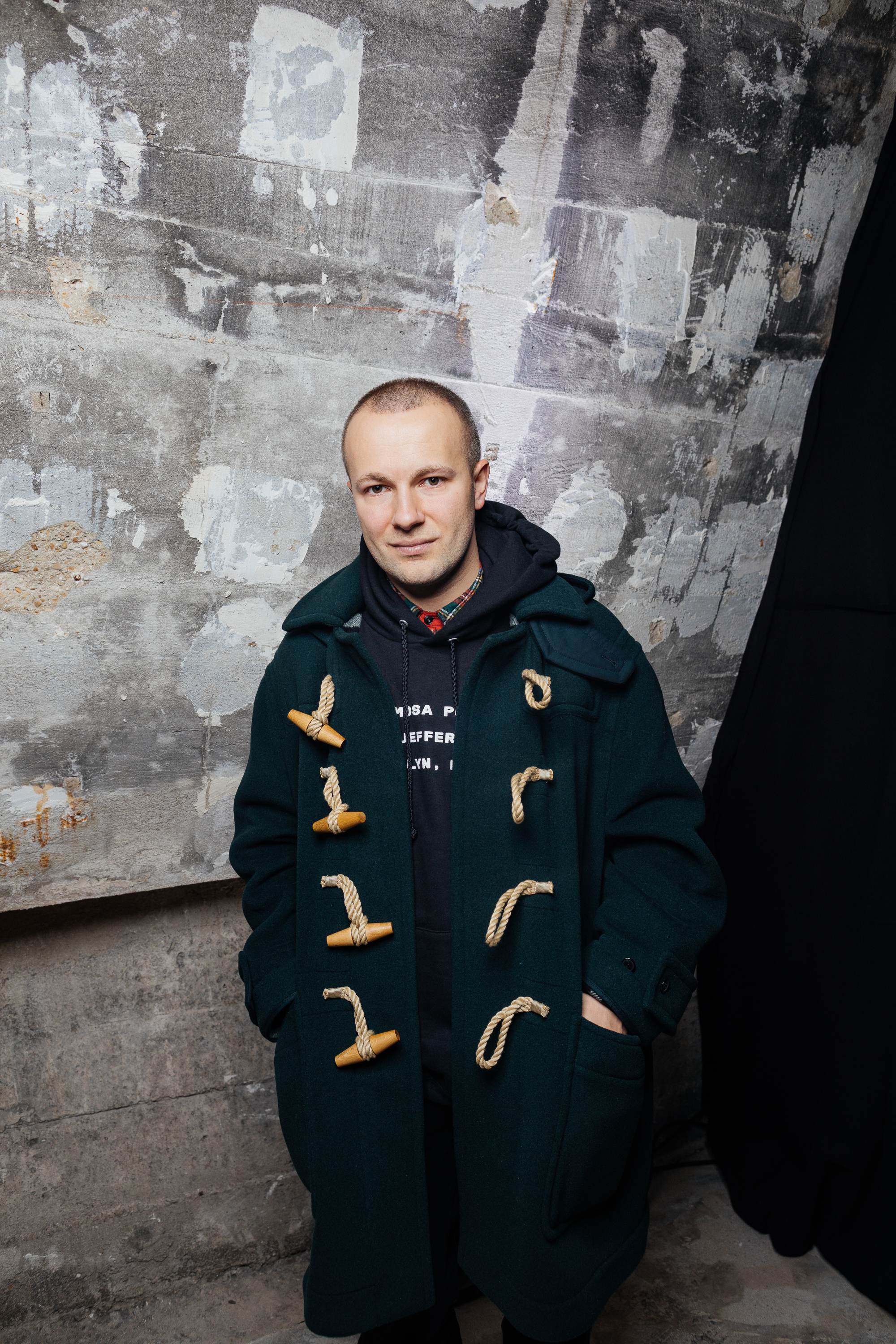 Gosha Rubchinskiy at a private view of 'Here We Are' in Paris_001