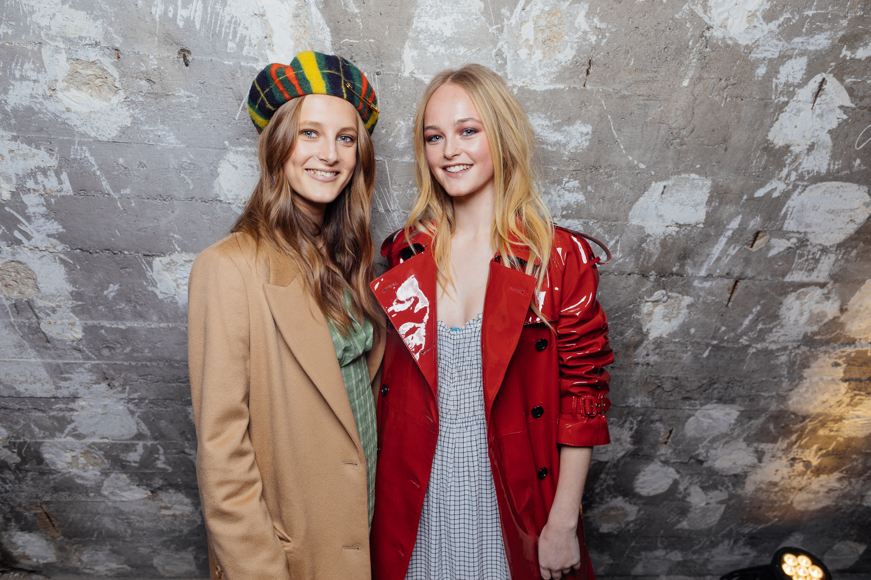 Olympia Campbell and Jean Campbell at a private view of 'Here We Are' in Paris_001