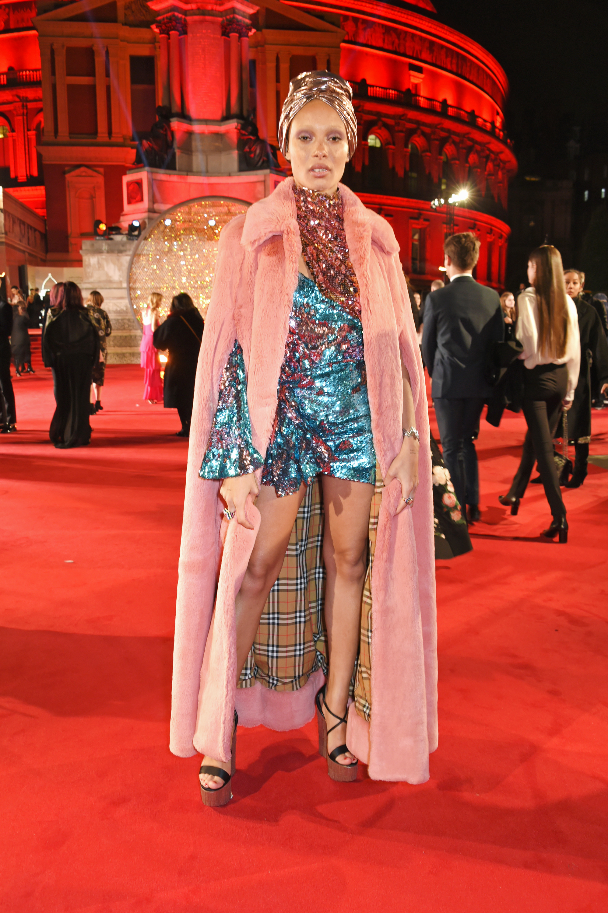 LONDON, ENGLAND - DECEMBER 04:  Adwoa Aboah attends The Fashion Awards 2017 in partnership with Swarovski at Royal Albert Hall on December 4, 2017 in London, England.  (Photo by David M. Benett/Dave Benett/Getty Images)