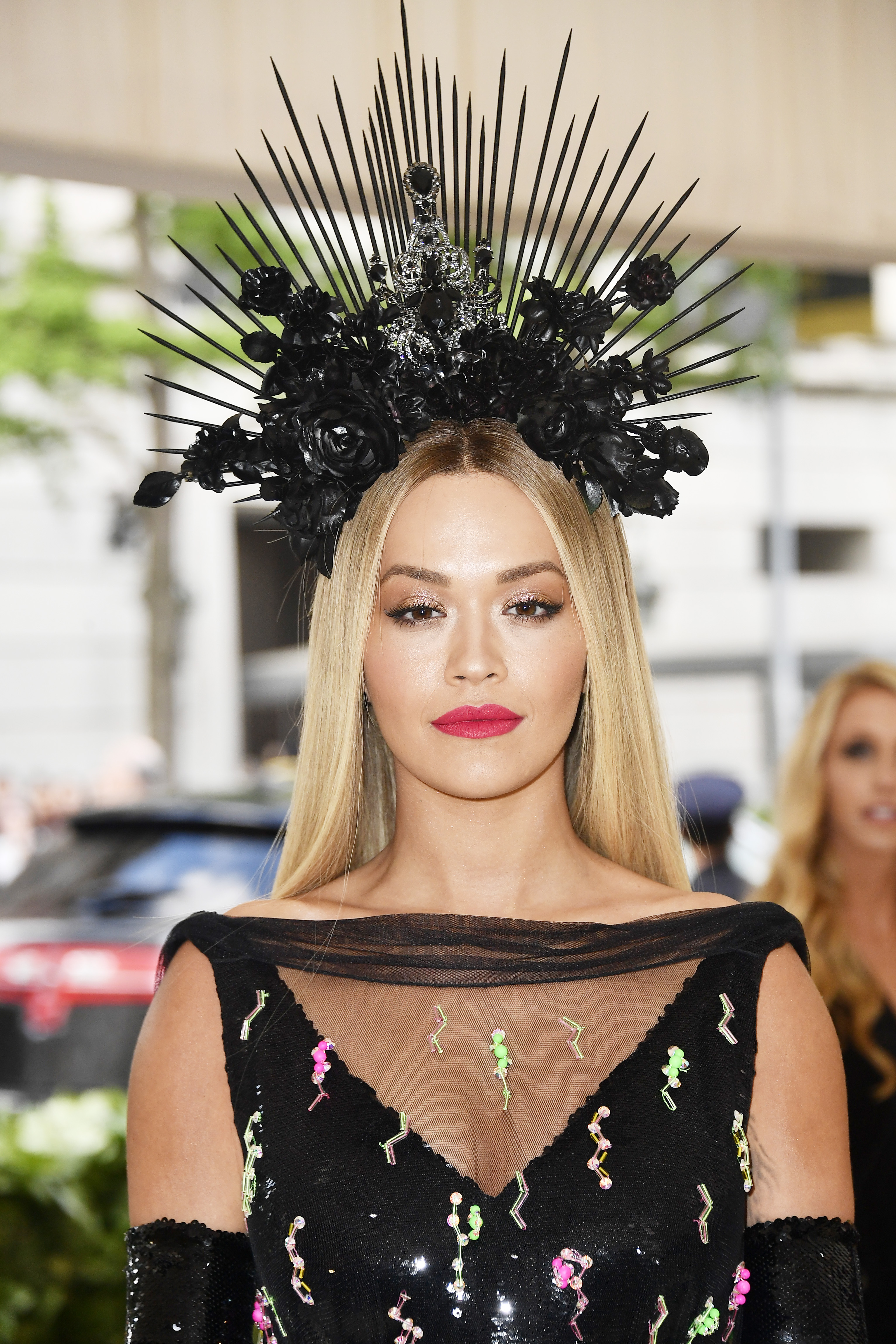 NEW YORK, NY - MAY 07: Rita Ora attends the Heavenly Bodies: Fashion & The Catholic Imagination Costume Institute Gala at The Metropolitan Museum of Art on May 7, 2018 in New York City. (Photo by Frazer Harrison/FilmMagic)