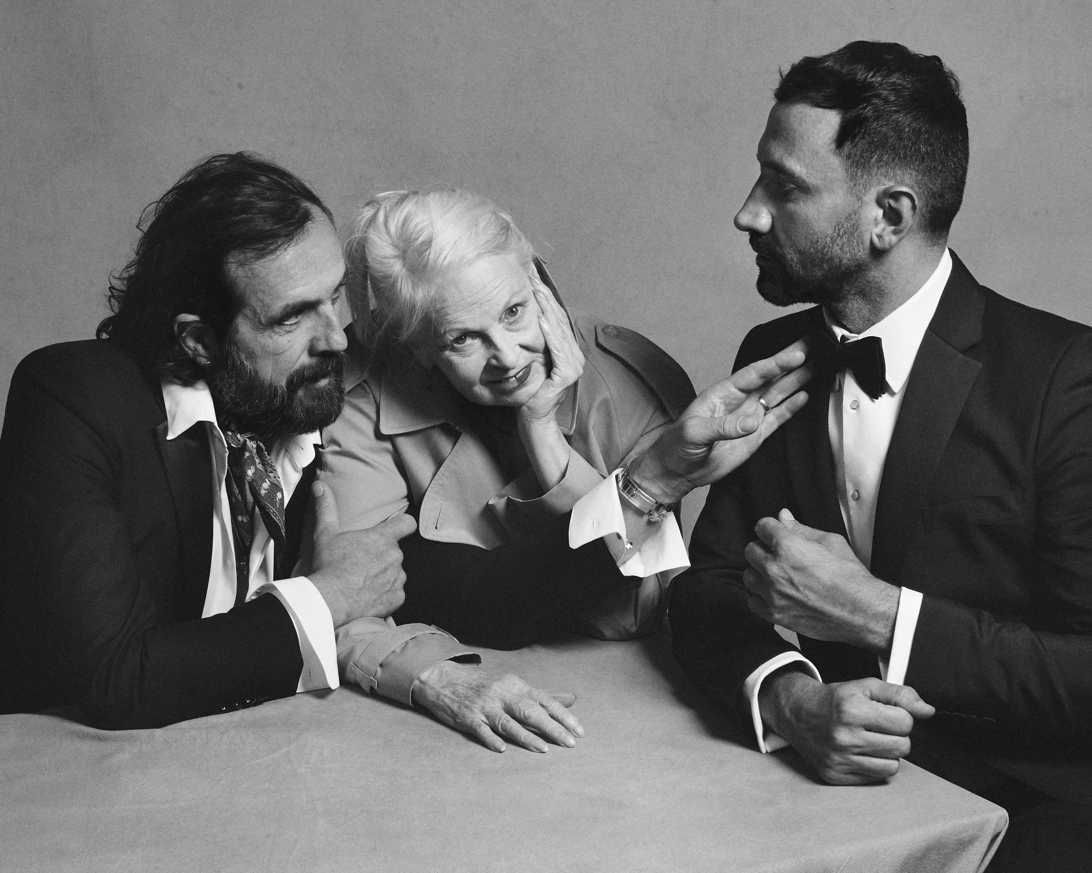 Portrait of Riccardo Tisci, Vivienne Westwood and Andreas Kronthaler c Courtesy of Burberry_ Brett Lloyd_003